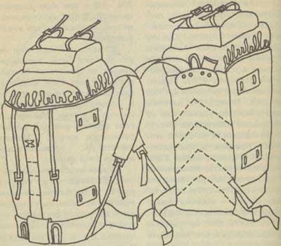 Выкройка большого рюкзака туристического рюкзак sumdex купить